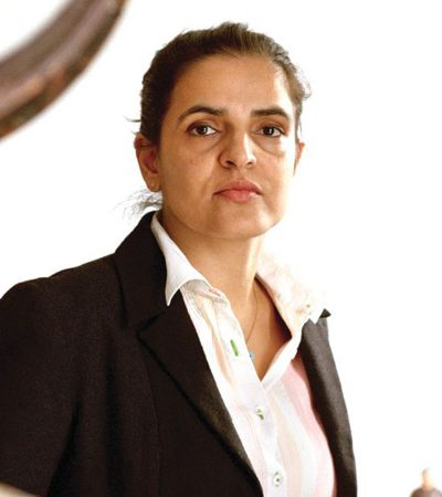 Barthi Kher, one of the most inspiring female artists