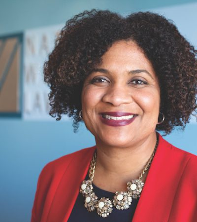 Fatima Goss Graves President and CEO of the National Women's Law Center on being a woman of color in the law field